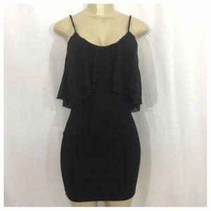 Black Sexy Mini Dress